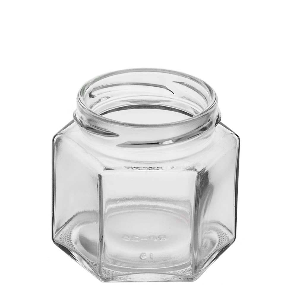 4 oz. Squat Hex Jar (Discontinued)