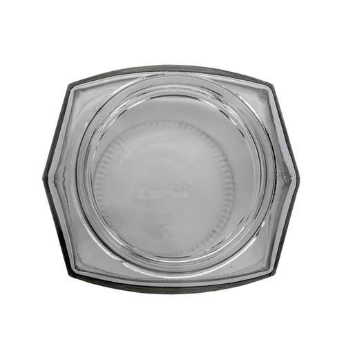 8oz oval hex clear top 1000px