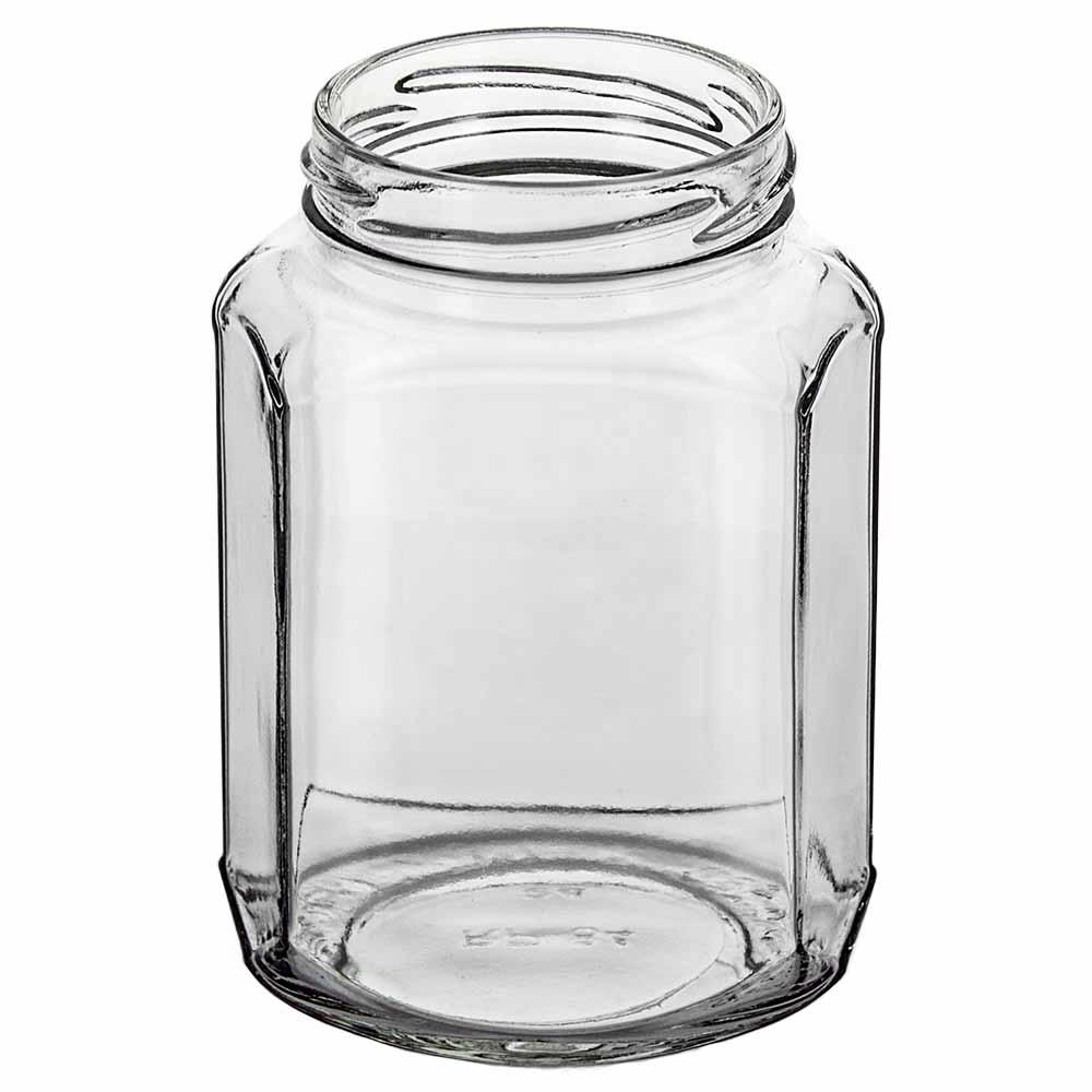 12 oz. Oval Hex Jar (Discontinued)
