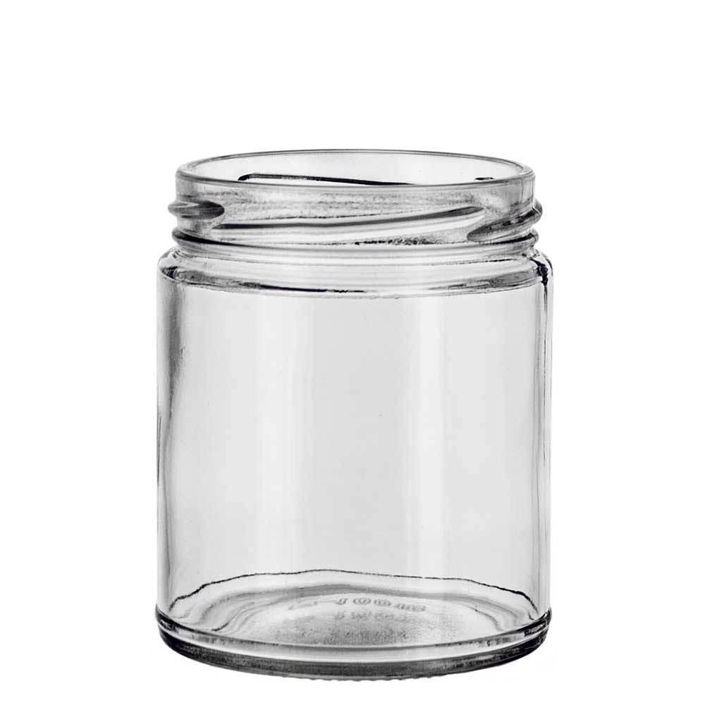 Medium Straight Sided Jar with Twist Top