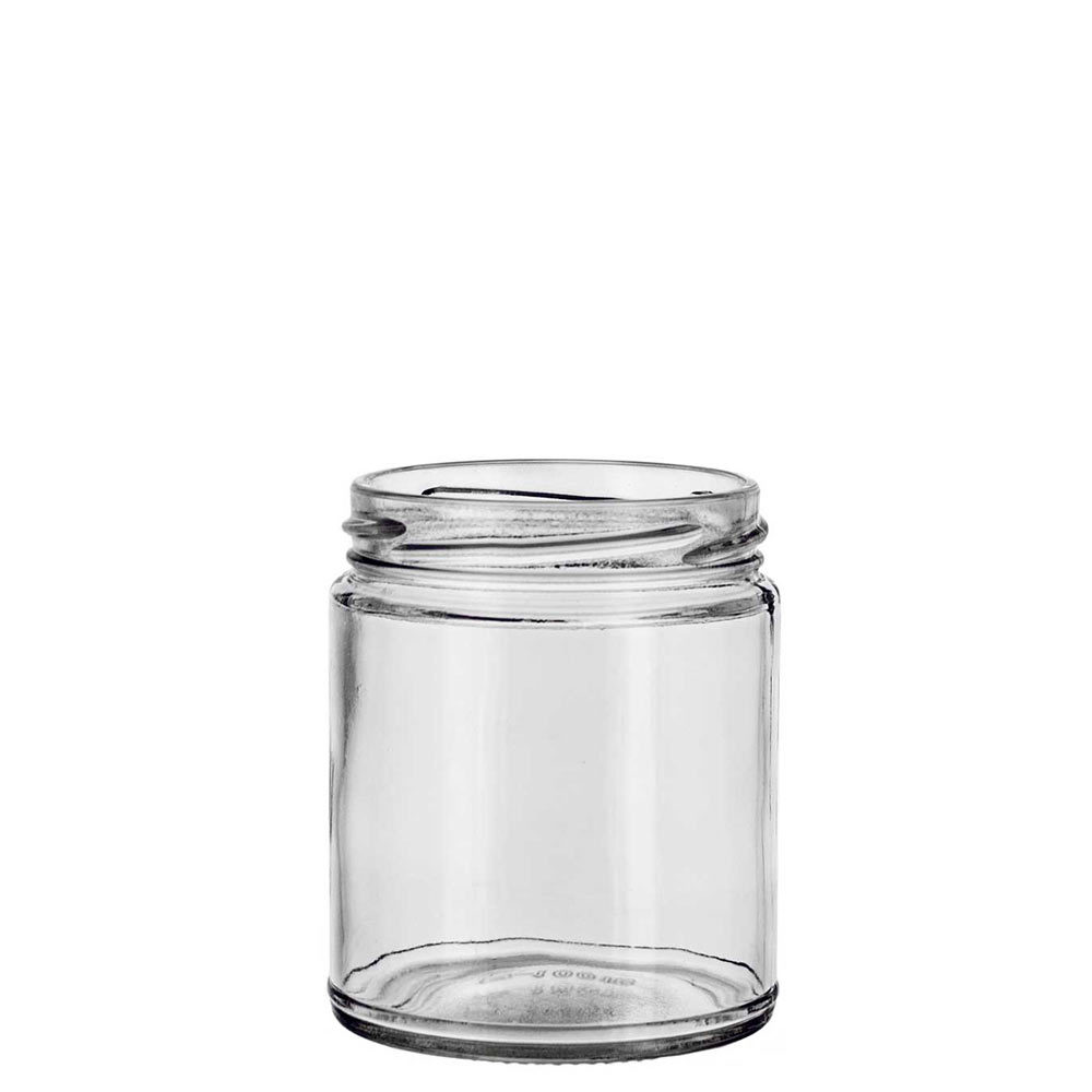 Small Straight Sided Jar with twist top