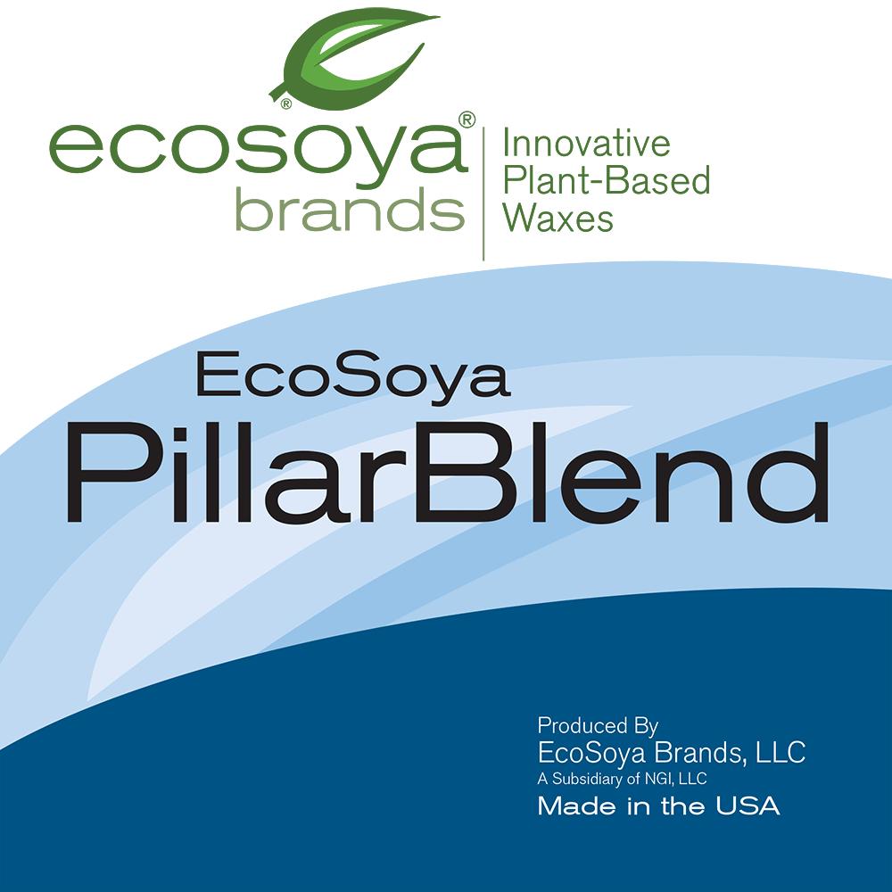 EcoSoya PB Pillar Soy Wax - CandleScience