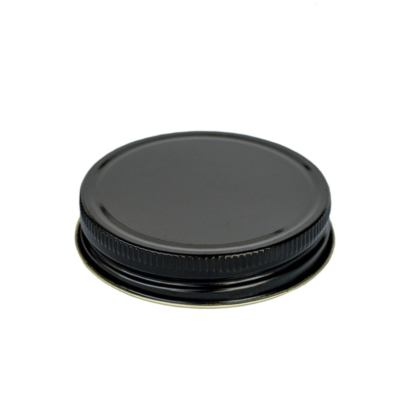 #70 G Black Threaded Lid for Jelly and Mason Jars