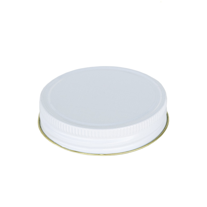 #70 G White Threaded Jelly Lid