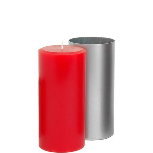 3 x 4.5 Round Pillar Mold (Concave)