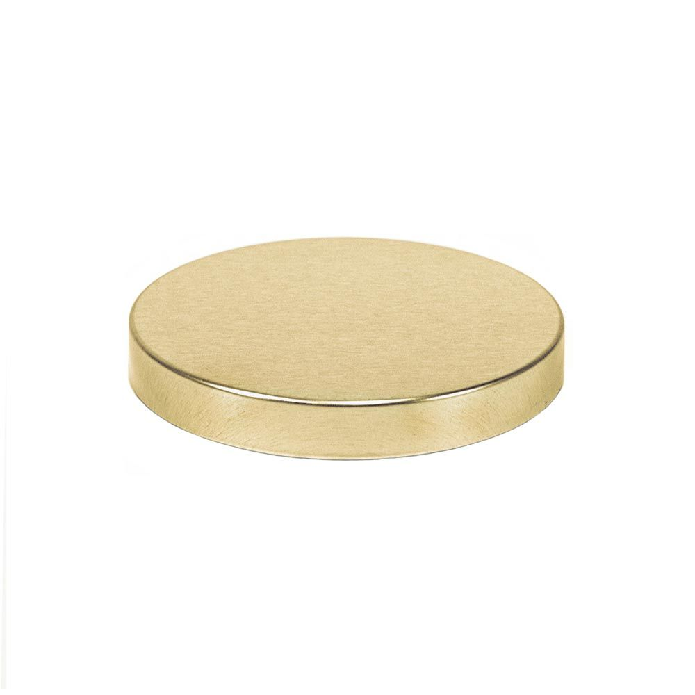 Gold flat lid