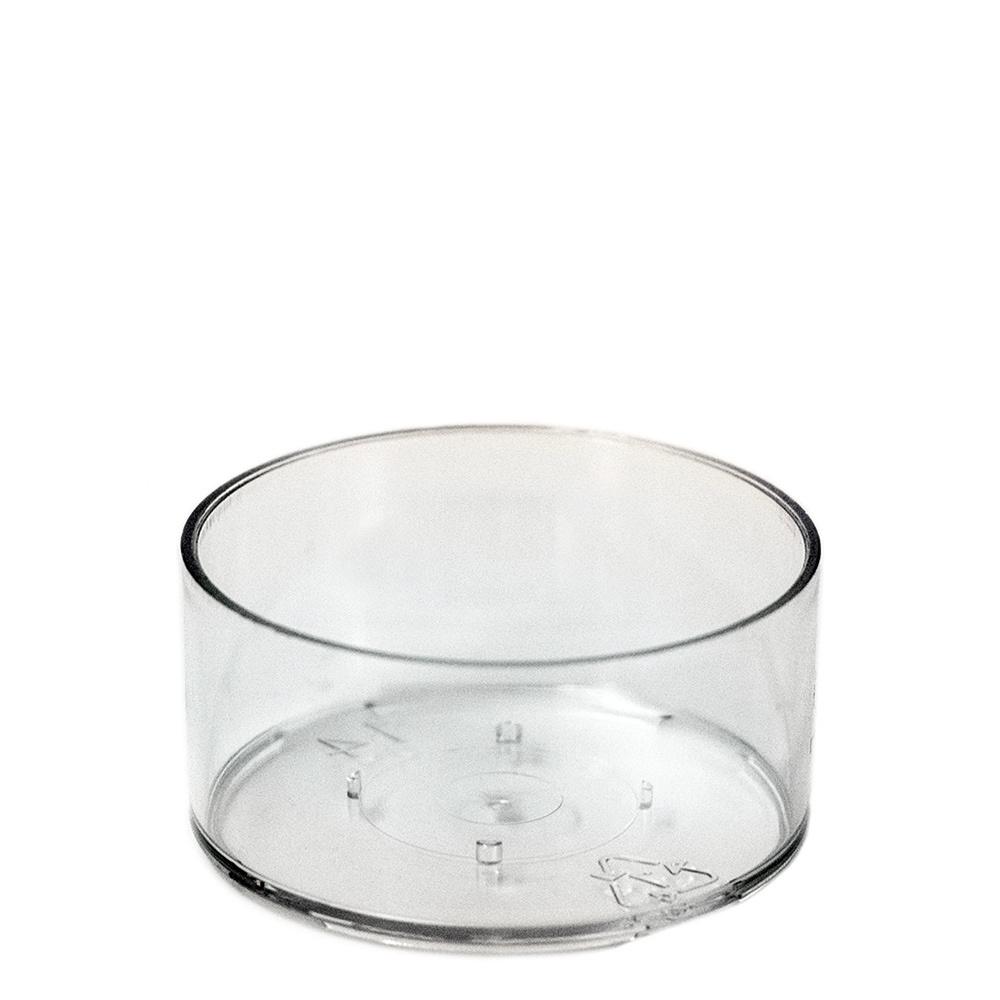 Clear Plastic Tea-light Cup