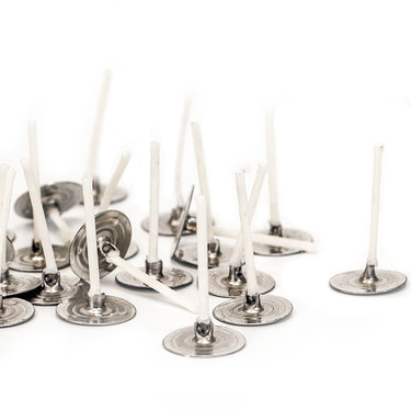 """LX 16 Pretabbed Large Candle Wicks ~ 6 /"""" ~ Candle Making Supplies"""