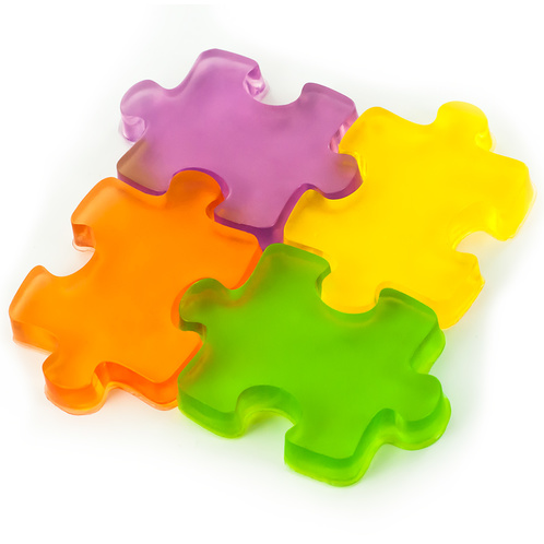 Puzzel pieces conneceted