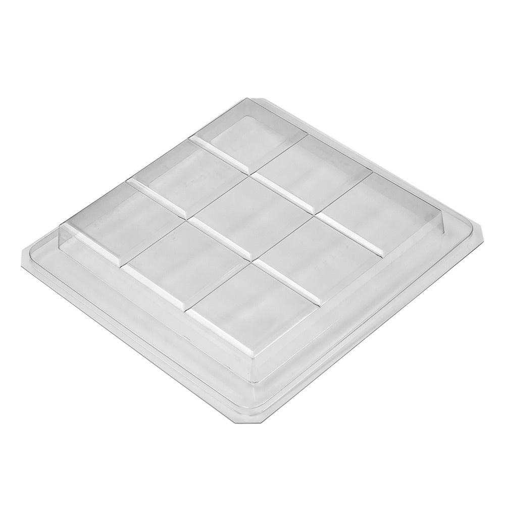 9 Bar Square Slab Tray Mold