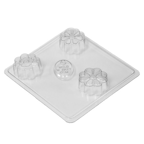 Flower bars soap mold tray
