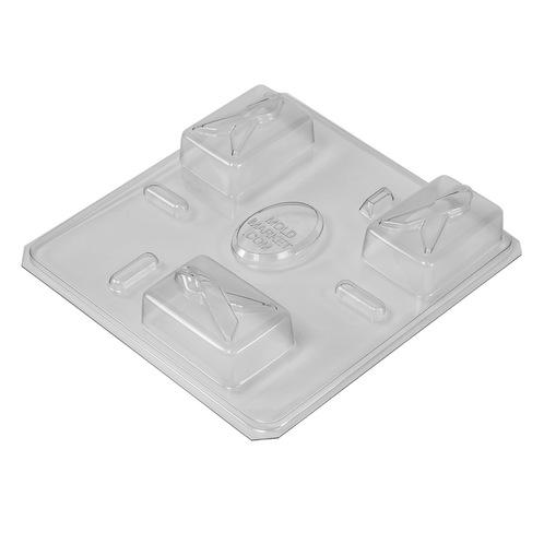 Ribbon awareness mold tray