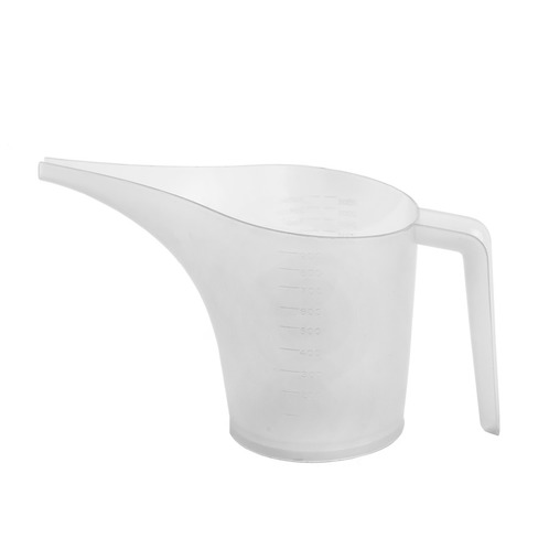 Funnel pouring pitcher