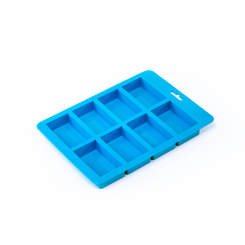 8 Bar Small Rectangle Silicone Soap Mold