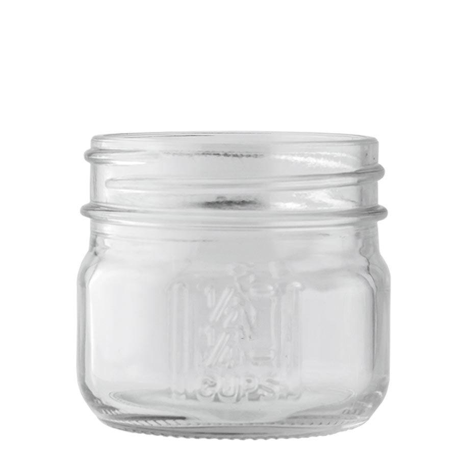 Glass 4oz. Mason Jar