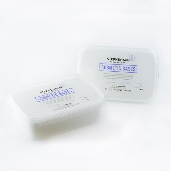 Cosmetic Foaming Bath Butter Base in 2 lb. Trays
