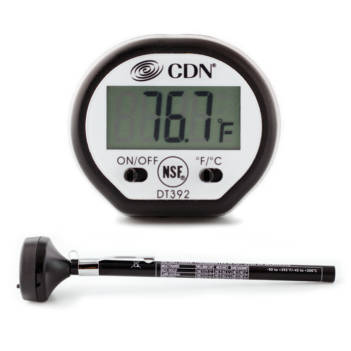 5 inch digital thermometer