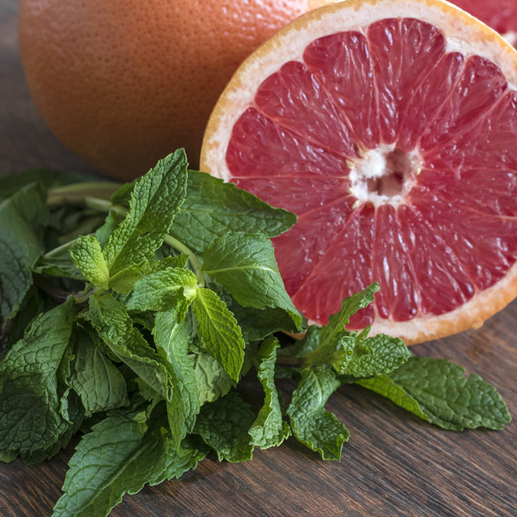 Mint and grapefruit fragrance oil