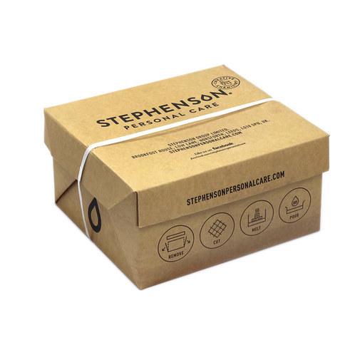 Cosmetic Foaming Bath Butter Base Packaging