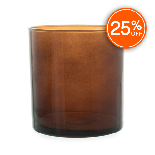 Straight Sided Tumbler (Amber - Discontinued Version)