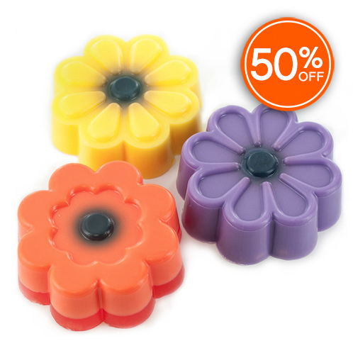 Flower soap mold 50  off