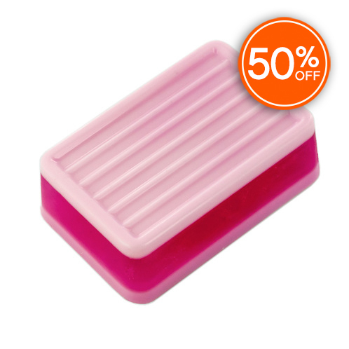 Groovy bar soap mold 50  off