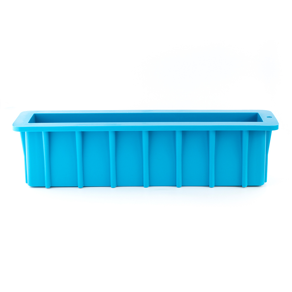 Tall Silicone Loaf Mold (12 inch) Side View