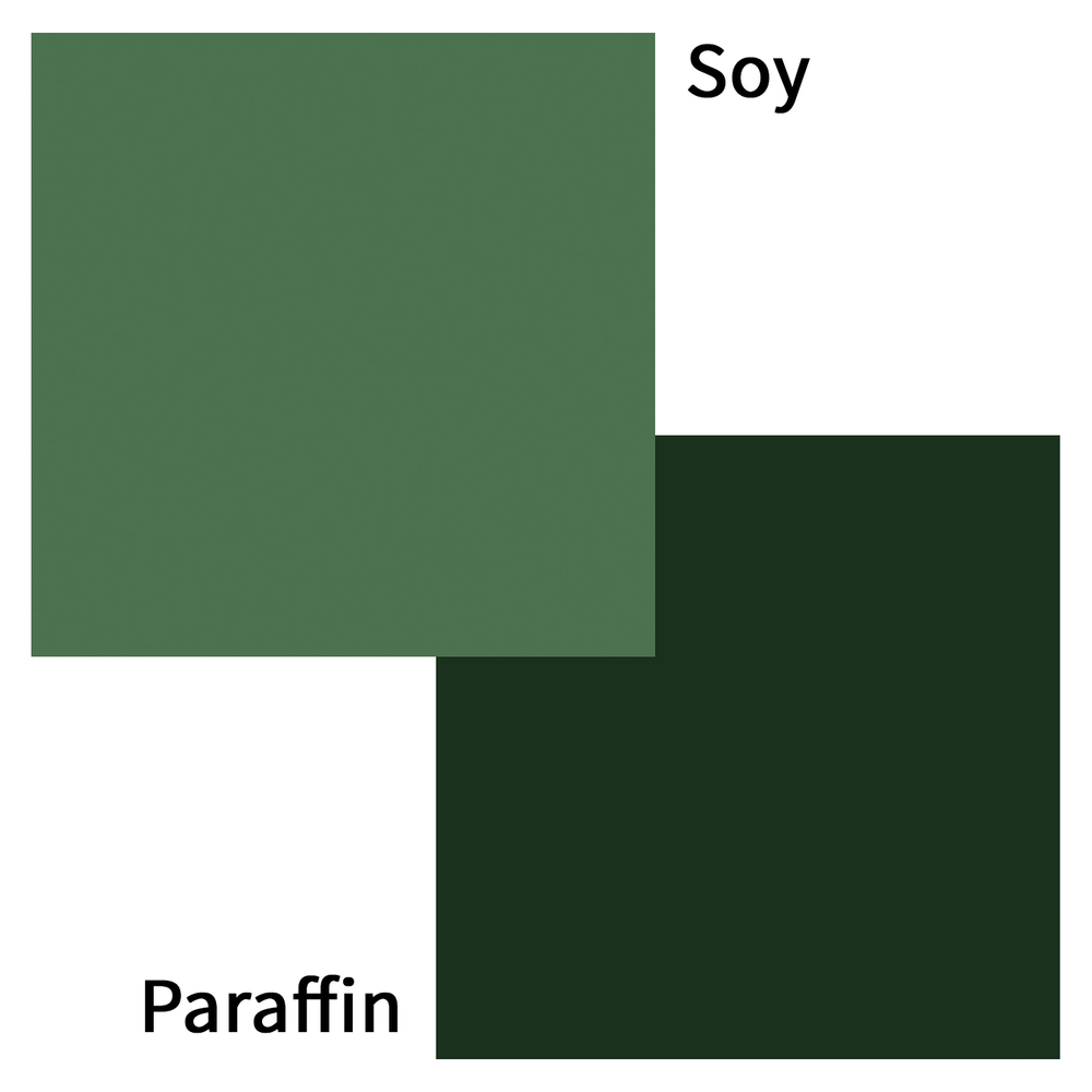 Forest green dye blocks