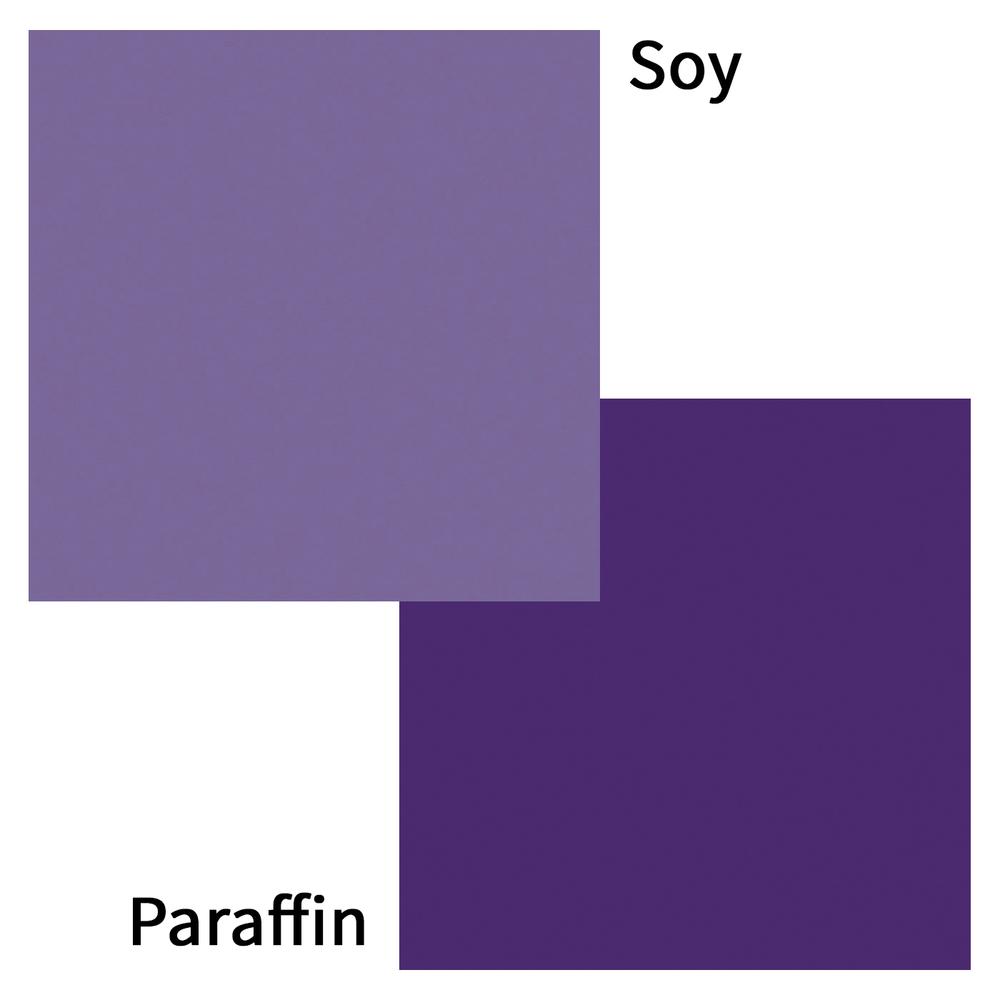 Lavender Color Candle Dye Blocks Color Swatch