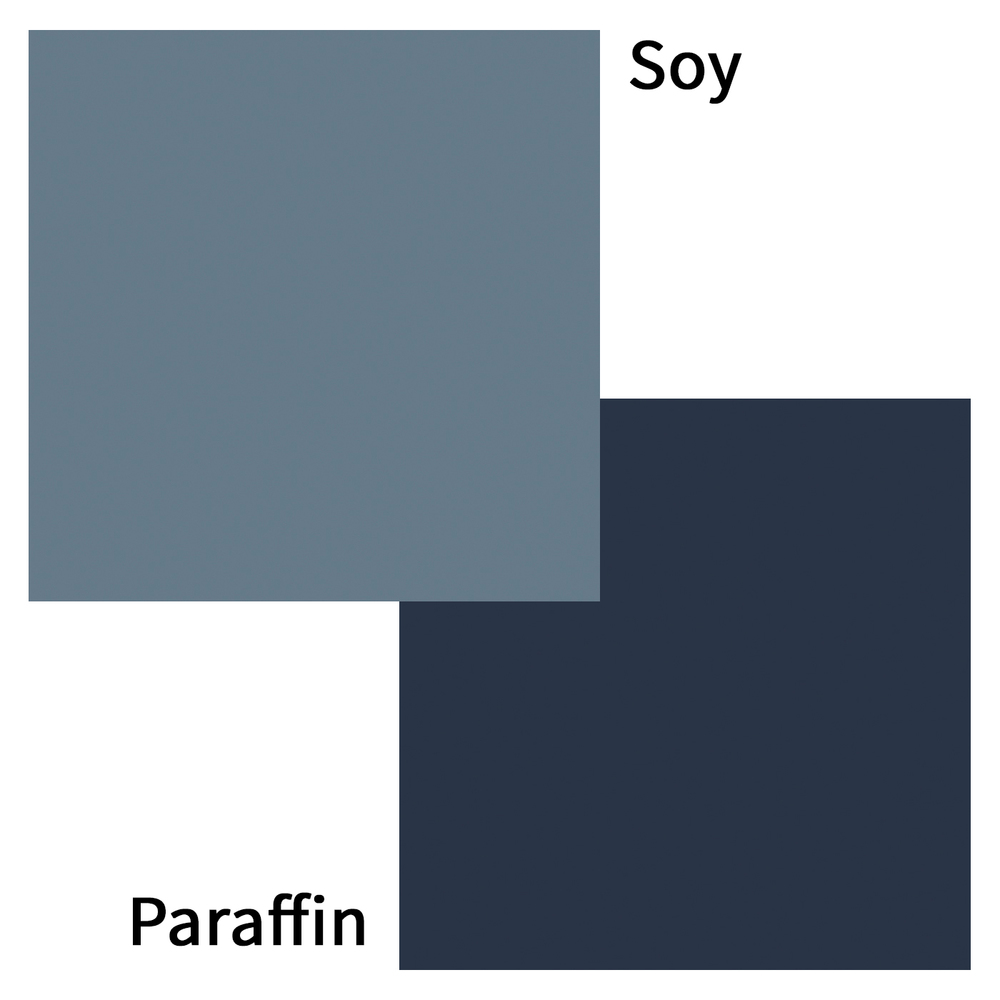 Navy Blue Candle Dye Blocks Color Swatch