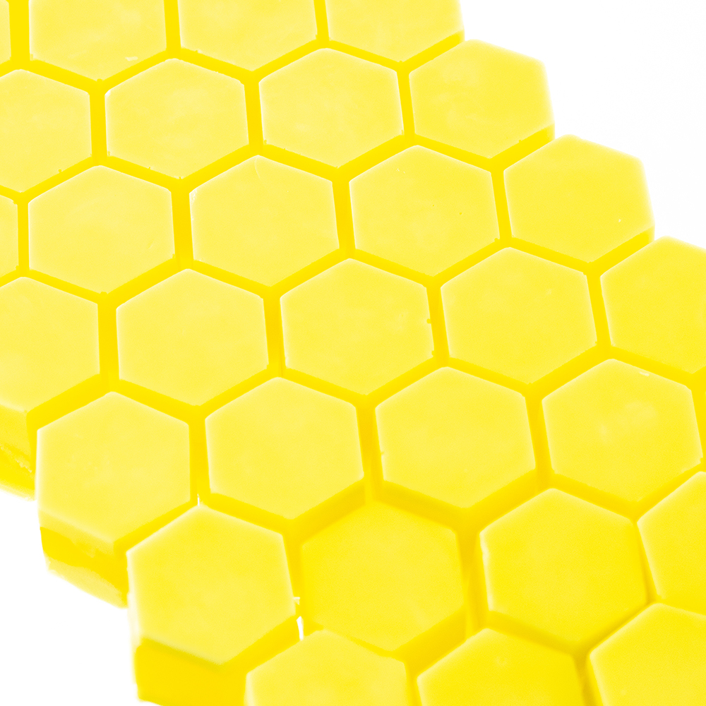 Hexagon silicone finished wax melts