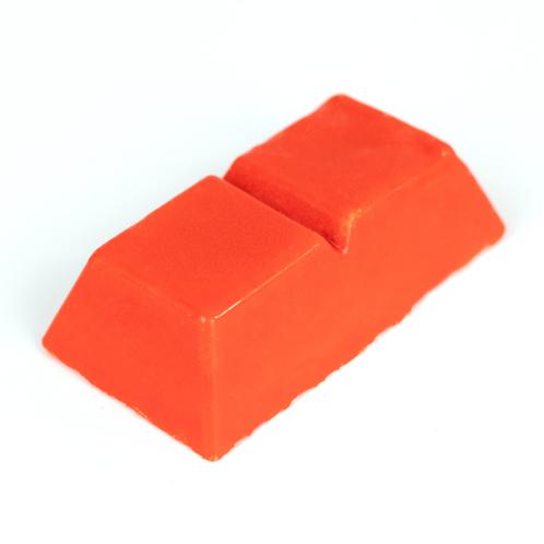 Orange dye blocks
