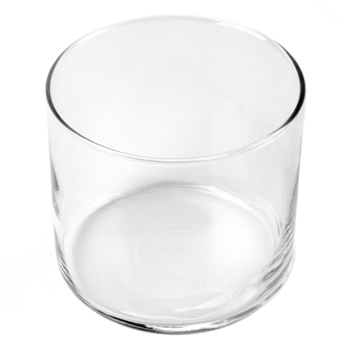 3-wick tumbler candle container top view