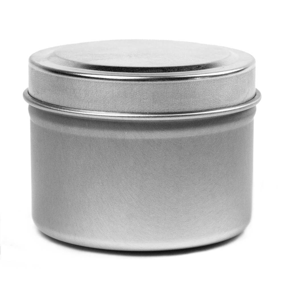 2 oz Candle Tin With Lid on Top