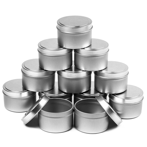 8 oz candle tins 12 piece case
