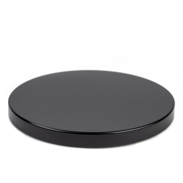 Black Metal Flat Lid 3-Wick