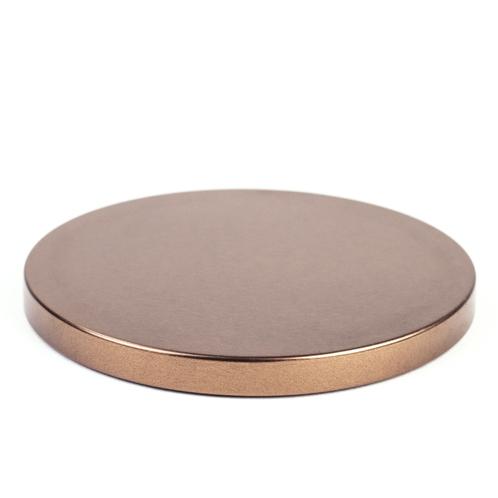 Bronze Metal Flat Lid (3-Wick)