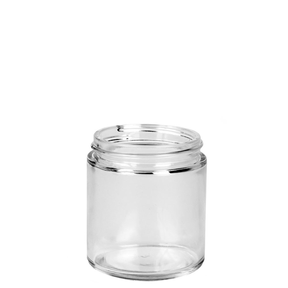 Threaded Small Straight Sided Jar view from top