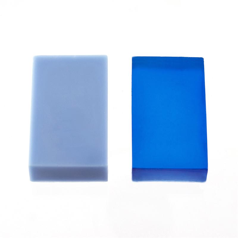 Ocean blue soap dye web