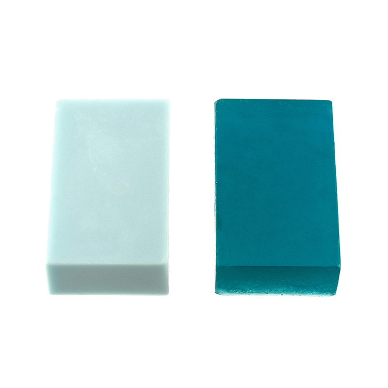 Soap dye teal web