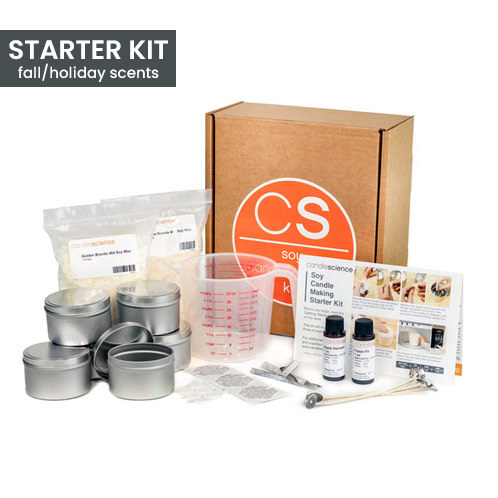 Soy Candle Making Starter Kit Fall and Holiday