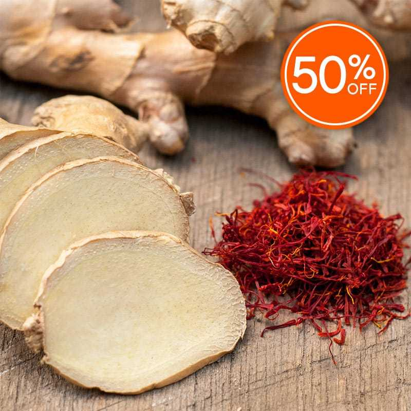 Red ginger saffron fragrance oil 50