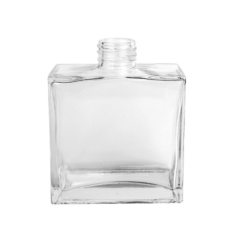 Square Glass Reed Diffuser Bottle