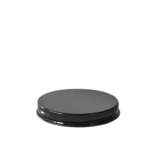 58-400 Black Threaded Lid