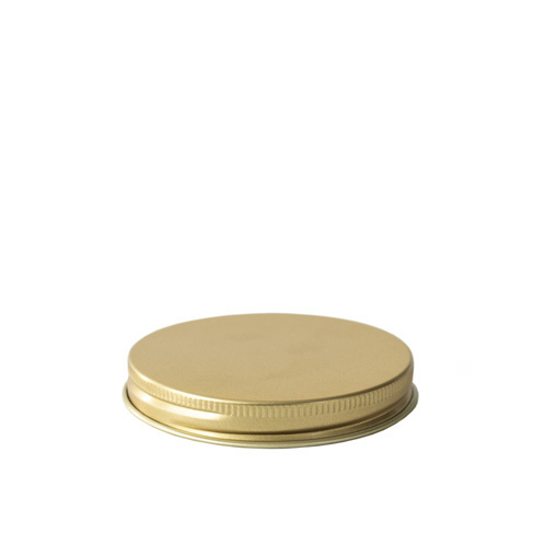 58-400 Gold Threaded Lid