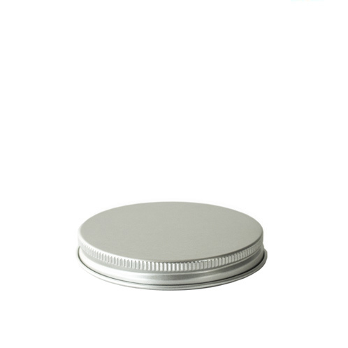 58-400 Silver Threaded Lid