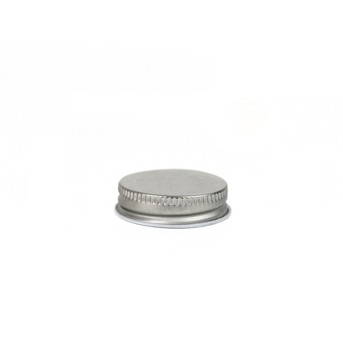 #38 Silver Threaded Lid