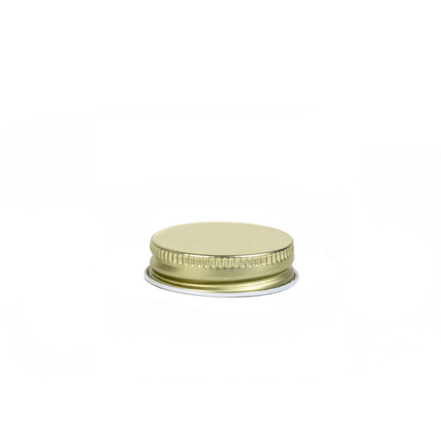#38 Gold Threaded Lid