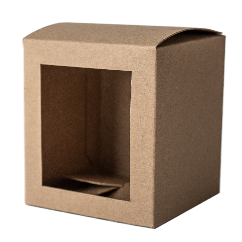 Kraft Straight Sided Tumbler Box