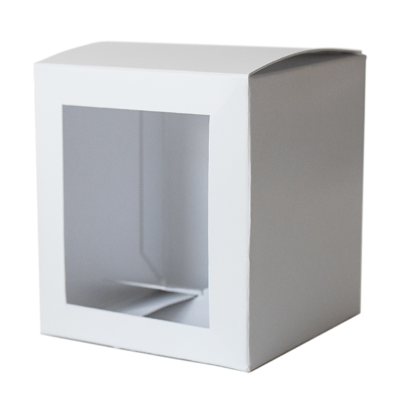 White Straight Sided Tumbler Box
